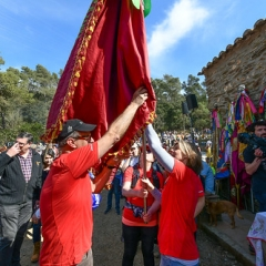 "SANT MEDIR arribada de la bandera a sant Medir • <a style=""font-size:0.8em;"" href=""http://www.flickr.com/photos/51371634@N05/47268487011/"" target=""_blank"">View on Flickr</a>"